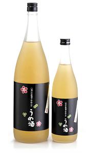 八海山の原酒でつけた梅酒