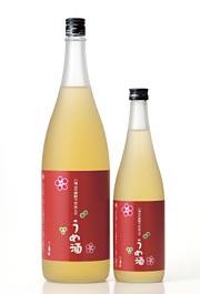 八海山の焼酎でつけた梅酒